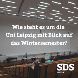 Studentischer Protest bei gestriger Senatssitzung – Rektorin glänzt mit Gutsherrenart – Präsenzsemester soll kommen – konkrete Pläne Fehlanzeige